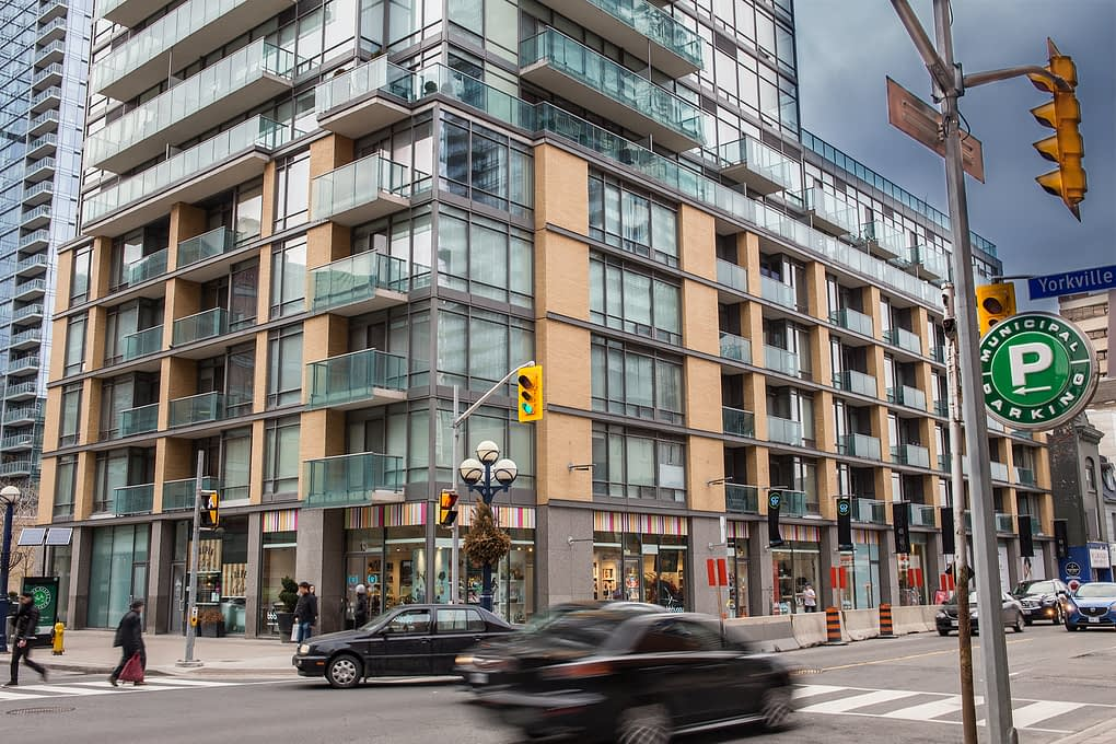 18 YORKVILLE AVENUE CONDOS, YORKVILLE TORONTO - 21 SCOLLARD STREET floor plans listings prices amenities sales reports