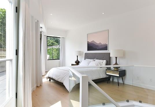 Bedroom of 295 Davenport - Unit 214
